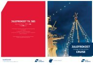 Julefrokost til søs (PDF format) - DFDS Seaways