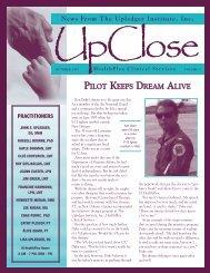 UpClose October 1997 - The Upledger Institute