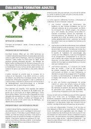 Formation de formateurs : atelier « Conte et ... - Planète Urgence