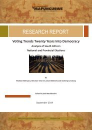 MISTRA ELECTION REPORT 2014
