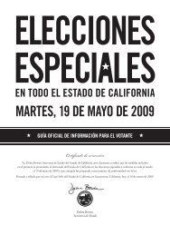 MARTES, 19 DE MAYO DE 2009 - State of California