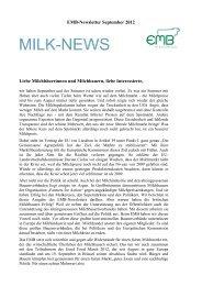 Pdf-Version hier herunterladen - European Milk Board