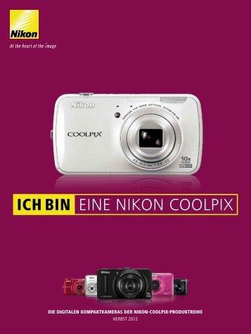 COOLPIX-Produktreihe Herbst 2012 - Nikon