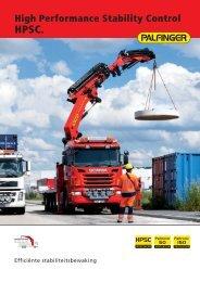 bijlage: Brochure HPSC stabiliteitsbewaking - Palfinger