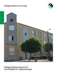 Hent vedligeholdelsesreglement A med NI-beløb - Boligforeningen 3B