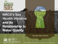 NRCS's Soil Health Initiative and its Relationship to ... - NEIWPCC