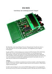 Beschreibung ES-M32(1,22 MB) - AK MODUL-BUS Computer GmbH