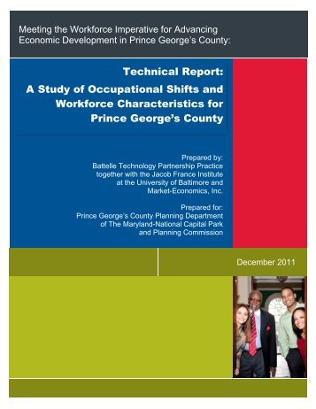 Technical Report - Prince George's County Planning Department