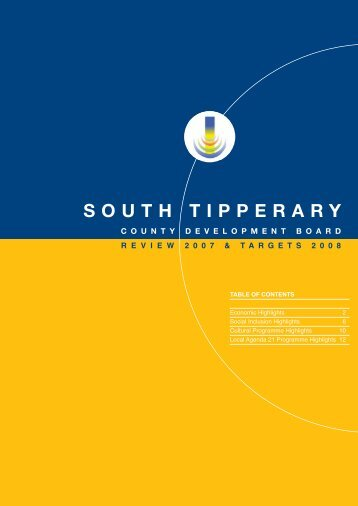 2007 Review and Targets 2008.pdf - South Tipperary County ...