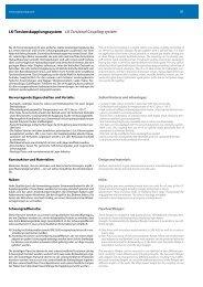 LK-Torsionskupplungssystem LK Torsional ... - RAJA-Lovejoy