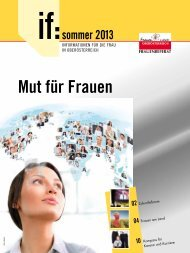 if 2/2013 - Sommer - Frauenreferat