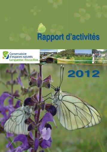 Rapport d'activités_2012_version finale.indd - Le site internet du ...