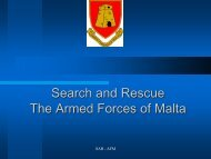 Search and Rescue The Armed Forces of Malta