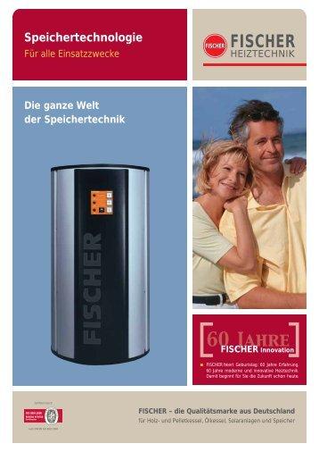 60 Jahre - FISCHER Heiztechnik