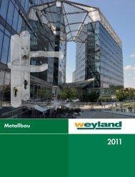 Metallbau 2011.pdf - Weyland GmbH