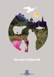 Norske miljømål - Regjeringen.no