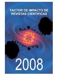 factor de impacto de revistas cientificas - Biblioteca CICESE