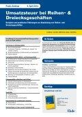 Umsatzsteuer bei Reihen - Linde Verlag - Seite 2