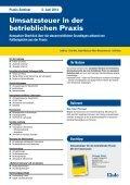 Umsatzsteuer bei Reihen - Linde Verlag - Seite 5