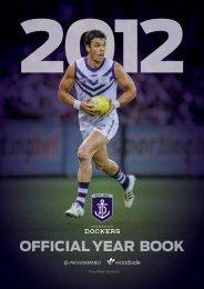 FD536a Year Book 2012 - Fremantle Football Club