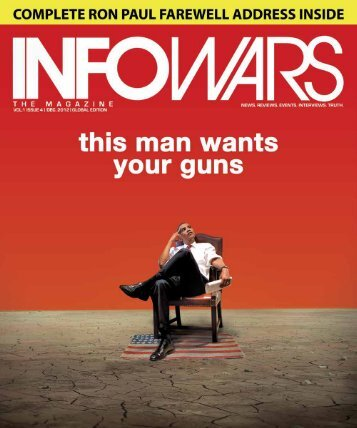 infowars Magazine DEC Issue 4 This Man Wants ... - 3iffromwithin Blog
