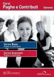 Paghe e contributi Corso Avanzato - Centro Studi Lavoro e Previdenza