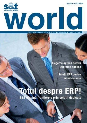 Totul despre ERP!