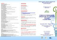 BROCHURE PER STAMPA - ArezzoGiovani.it