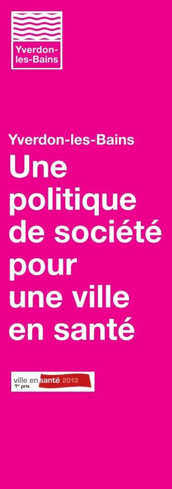 Téléchargez au format PDF le flyer Ville en santé 2013