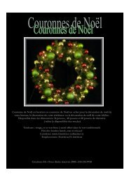 Téléchargez notre catalogue de couronnes de Noël - Creations 44