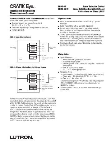 lutron ecosystem wiring diagram lutron lighting installation installation wiring diagram installation instructions lutron
