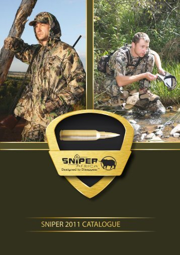 SNIPER 2011 CATALOGUE - Sniper Africa