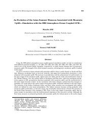 An Evolution of the Asian Summer Monsoon Associated with ...