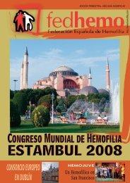 Revista Fedhemo Nº 48 - Hemofilia