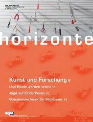 Horizonte Nr. 88 herunterladen (PDF, 9.0 MB) - Schweizerischer ...