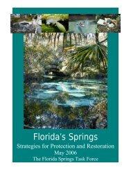 Protection and Restoration Strategies (2006) - Florida Wildlife ...