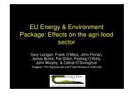 EU Energy & Environment Package - Carbon Cycles and Sinks ...