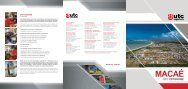 Folder OFFSHORE MACAÉ - UTC Engenharia