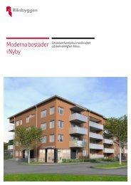 Moderna bostäder i Nyby - Riksbyggen