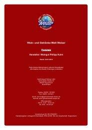 Preisliste für Hersteller: Weingut Philipp Kuhn - und Getränke-Welt ...