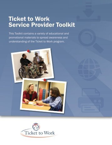 Ticket to Work Service Provider Toolkit