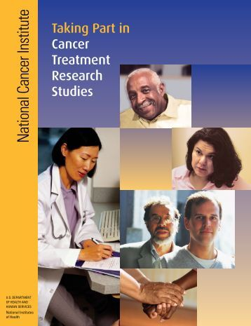 Taking Part in Cancer Treatment Research Studies PDF - National ...