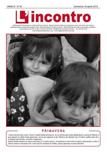 18 aprile 2010 - Il Centro don Vecchi