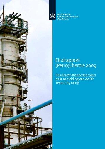 (Petro)Chemie 2009 - Eindrapport - Inspectie SZW