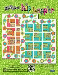 Hip Happier Quilt - Henry Glass & Co