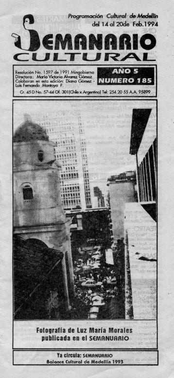 EMANARIO - Casa del Teatro de Medellín
