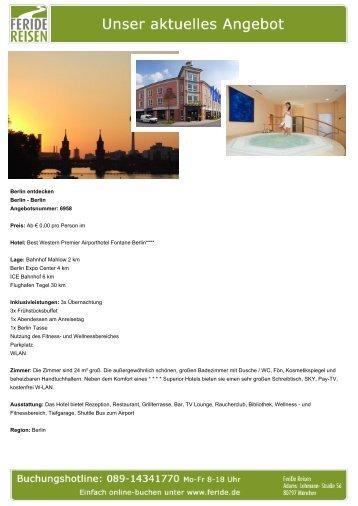 Berlin entdecken - Eventreisen - Trierischer Volksfreund
