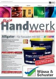 Handwerk Marken in Aktion - Wässa & Schuster