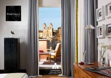Portrait Suites brochure - Lungarno Hotels Collection