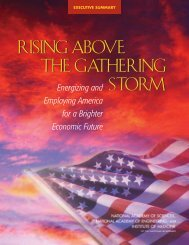 Rising Above the Gathering Storm - National Science Foundation